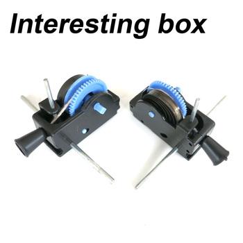 Skrzynka na kable skrzynka na kable akcesoria do pudełek zabawki akumulator biegów akcesoria do pudełek materiały ręcznie robione DIY kreatywny DIY tanie i dobre opinie