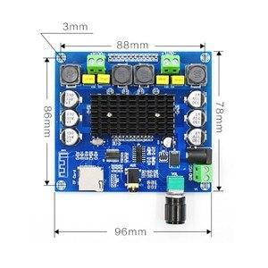 Image 4 - XH A314 12V 24V Bluetooth 5.0 TPA3116 Điện Kỹ Thuật Số Bảng Mạch Khuếch Đại 2X50W Âm Thanh Stereo AMP Mô Đun hỗ Trợ Thẻ TF AUX