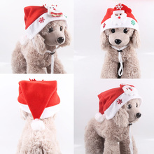 a dog for christmas Christmas Dog Hat Soft Winter Dog Cat Hat Holiday Christmas Party Pet Cosplay Clothing Chihuahua Yorkie Hat For Dog Cats
