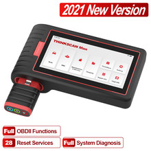 ThinkCar 2021 THINKSCAN MAX obd2 code reader scanner Full System with VIN Scan /ECU Coding/A/F Reset auto Car diagnostic tools