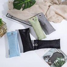 4 adet/takım bambu kömür hava temizleme çantaları doğa taze koku hava spreyi hava temizleyici çanta ayakkabı ofis ev hava spreyi