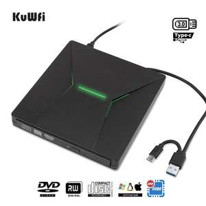 Kuwfi Dirve-Player Light Computer DVD Portable Macbook/window-Os /rw-Burner Type-C