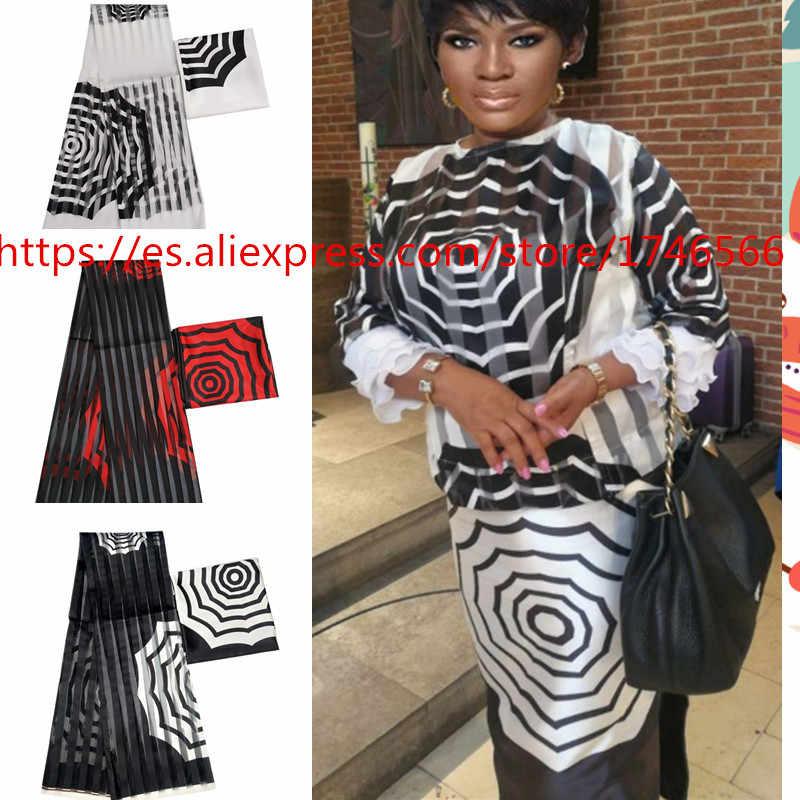 Vendita calda Gahna Stile raso di seta tessuto con del nastro del organza Africano della cera disegno! J70825