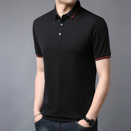 New Summer Short-sleeved T-shirt Men's Trendy Men's Clothing On The Wild  2736