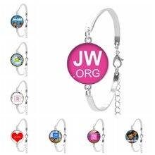 2019 Hot JW.ORG Popular Glass Convex Ladies Bracelet Ladies Birthday Gift Fashion Jewelry Gift  From The Batch цена