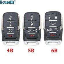 4 + 1/5/5 + 1 taste Smart Remote Key shell Fall für Dodge RAM 2019 2020 mit CY24 kleinen schlüssel