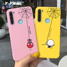 For Redmi note 8T case Cool Q SpiderMan Soft silicone TPU case Various color