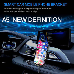 Image 5 - Wireless Fast Car Charger A5 10W For Android IOS Smartphone Mobile Phone Fast Charging with Smart Sensor Car Mount Fast Charger