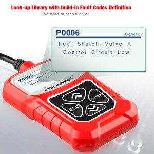 Image 4 - KONNWEI KW310 OBD ODB2 스캐너 범용 자동 진단 도구 전문 자동차 검사 엔진 코드 리더 자동차 ELM327