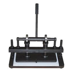 Podwójne koło ręcznie maszyna do cięcia skóry PVC/arkusz eva foremka  skóra maszyna do cięcia instrukcja nóż do skóry 1pc w Centrum obróbki od Narzędzia na