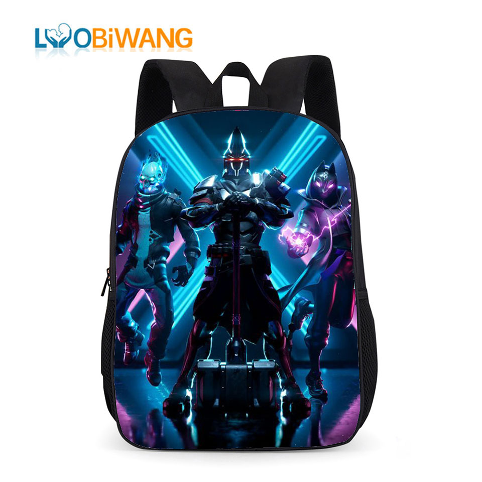 LUOBIWANG Battle Royale School Bags For Teenager Boys And Girls Kids School Backpacks For Children Plecak Delune Mochila Bookbag