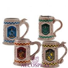 Школа колдовства и волшебства Хогвартс креативная керамическая чашка Гриффиндор Слизерин Рейвенкло чаша пуффендуй реквизит для косплея
