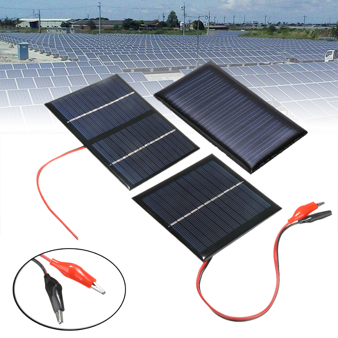 9V 3W Mini Portable Cell Solar Panel System Light DIY Battery Cell Charger Solar Panel Mayitr