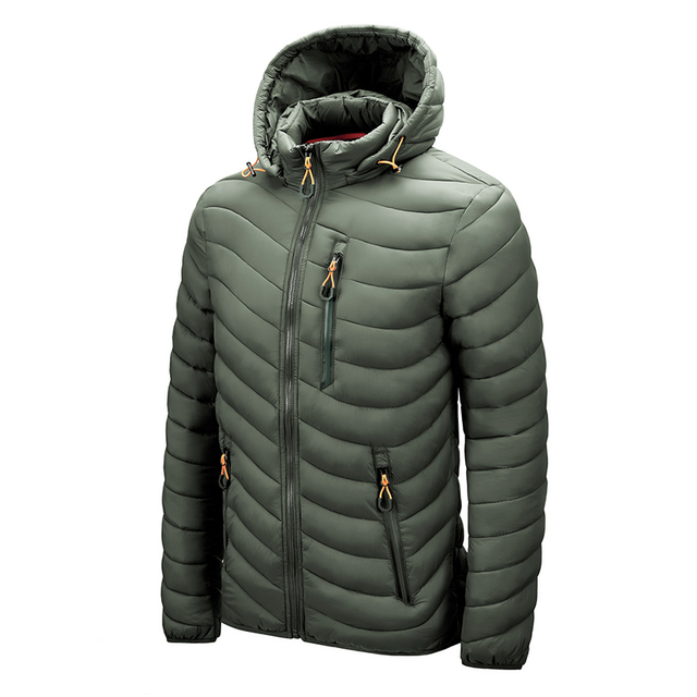 Warm Jacket Men Windbreaker 2021 Latest New Spring Autumn Hooded Soft Parkas Men's Fashion Casual High Quality Jacket Coat Male 5