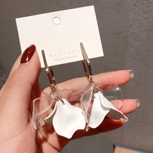 2019 hot fashion jewelry elegant multi-layer tassel earrings white leaf holiday for Girls gift woman
