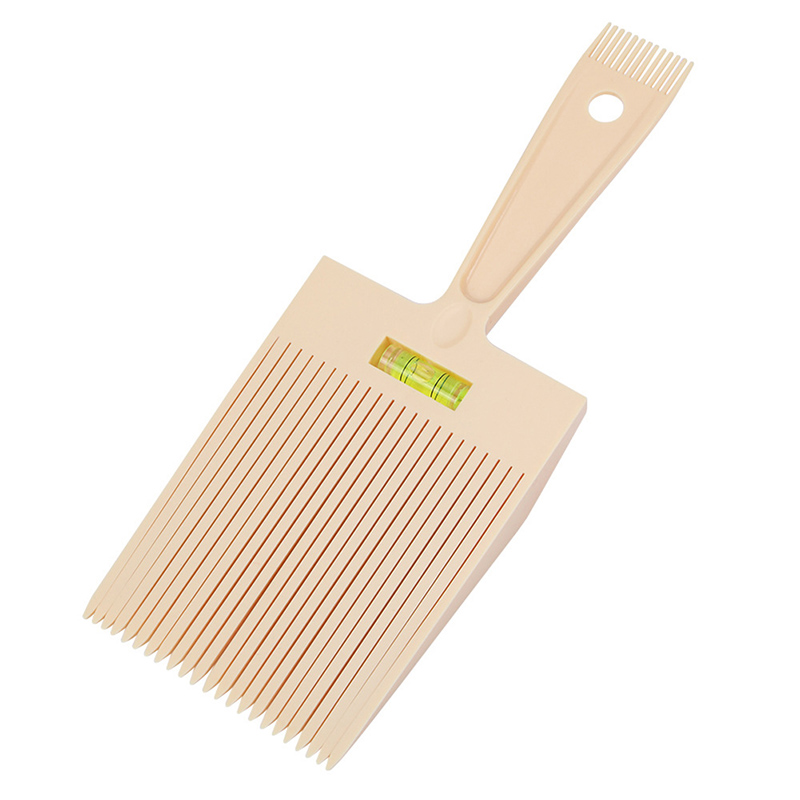 Hair Trimming Accessories Bubble Clipper Barber Styling Dyeing Comb Anti-slide Handle Plastic Flattop Hair Cutting Pigment Salon
