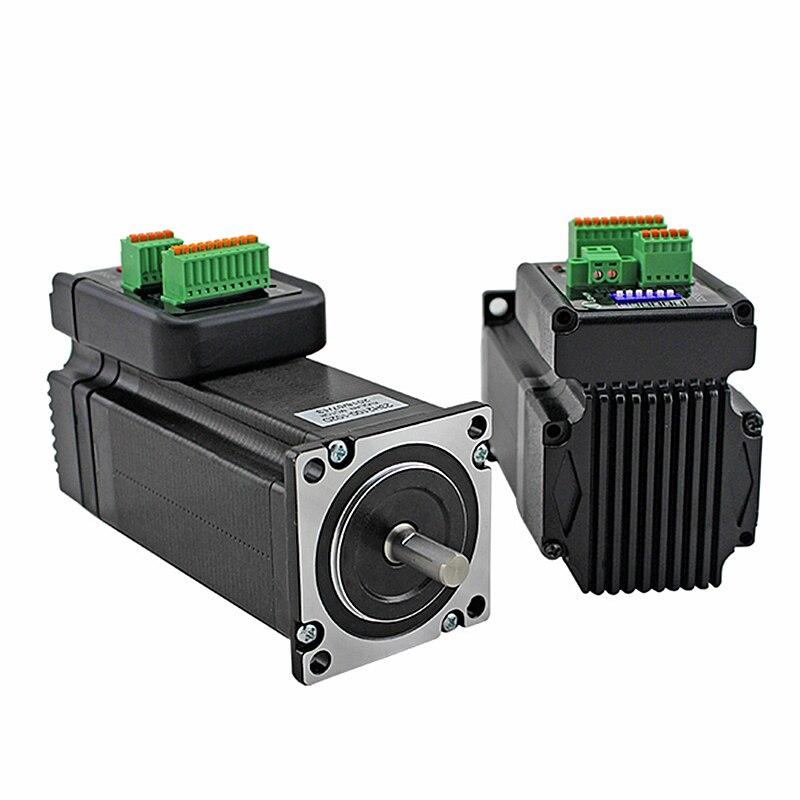 Nema23 Integrated Hybrid Servo Stepper Motor Closed Loop 57MM For CNC Engraving Machine