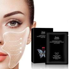 Anti Wrinkle Face Mask Patch Nasolabial Folds Film Forehead Wrinkles Fade Anti-wrinkle Firming Collagen Gel Law Pattern Sticker