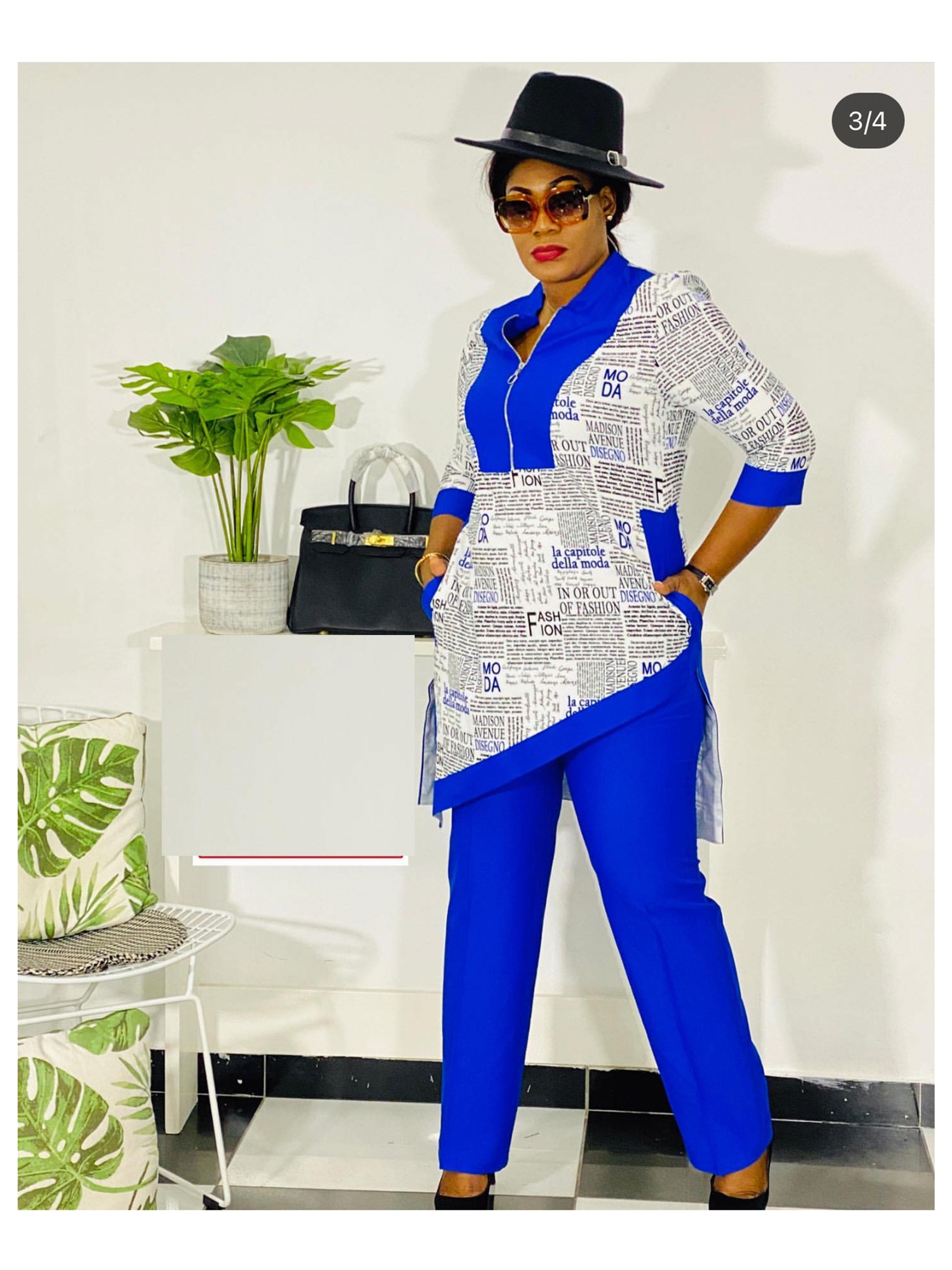 Dashiki African New Fashion Suit  3