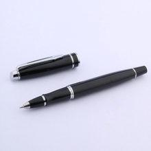 Tinta preta forquilha seta prateado baoer 181 guarnição rollerball caneta