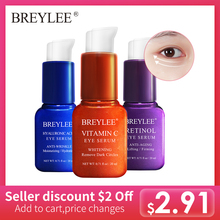 BREYLEE Eye Serum Mask Retinol Hyaluronic Acid Vitamin C Care Cream Skin Bags Moisturizing Dark Circles Firming