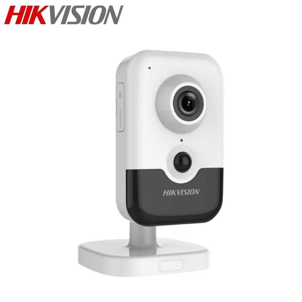 La version anglaise originale 4MP IR Cube réseau caméra DS-2CD2443G0-IW remplacer DS-2CD2442FWD-IW CCTV IP wifi IPC 4