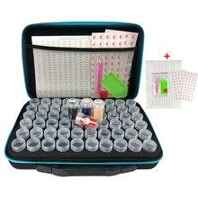 15/30/60/120 bouteilles diamant peinture porte-outils sac à main diamant peinture accessoires pierre mosaïque conteneur boîte de rangement
