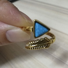 2019 Vintage Antique Natural Stone Open Arrow Ring Fashion Jewelry turquoises Finger Ring For Women Wedding Anniversary Rings wh natural water drop stone ring fashion jewelry blue turquoises finger ring for women wedding anniversary rings