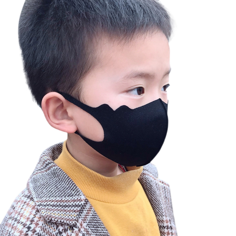Unisex Kids Anti Dust Mouth Mask PM2.5 Respirator Washable And Reusable Children Face Protect Safety Sponge Mask