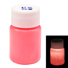 Green Glow in the Dark Luminous Sand Acrylic Fluorescent Paint Party Bright Paint Star Nail Decoration Paint Halloween 20g glow in the dark halloween jason damaged face mask green