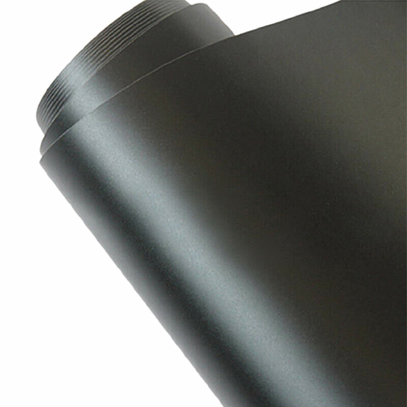 12X60 Inch Matte Black Vinyl Film Wrap Car Diy Sticker