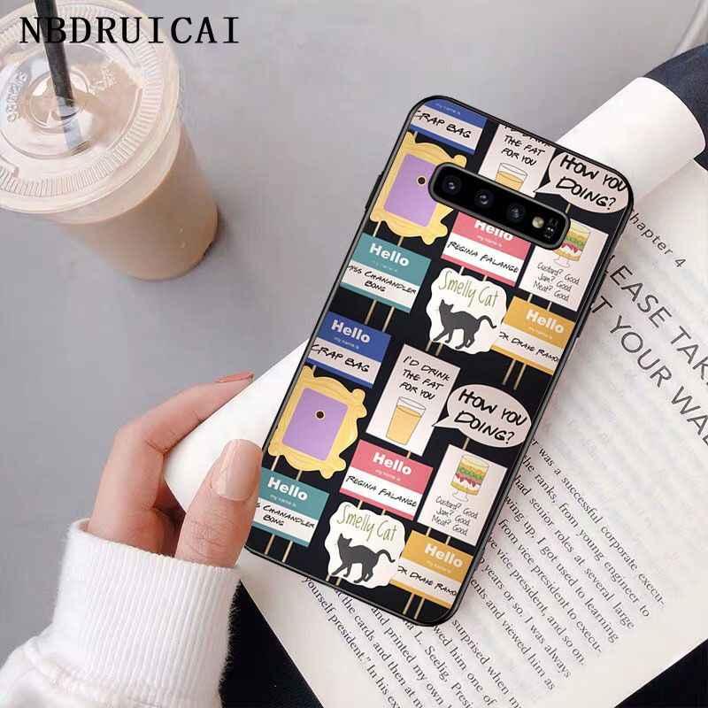 NBDRUICAI centralny Perk przyjaciele kawy program telewizyjny etui na telefony dla Samsung S9 plus S5 S6 krawędzi plus S7 krawędzi S8 plus S10 E S10 plus