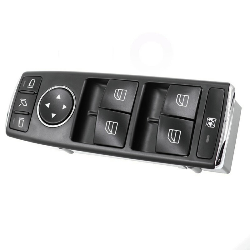 Car Auto Front Left Power Window Master Control Switch Driver Side Switch Button 2128208210 for Mercedes-Benz C E GLK 2010-2017