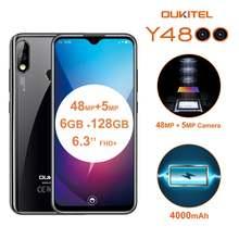 Oukitel y4800 63 дюймов 4g lte мобильный телефон четыре ядра