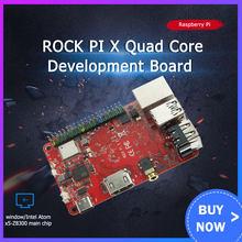ROCK PI X Model B Win10 Intel Atom x5-Z8350 komputer jednopłytkowy SBC