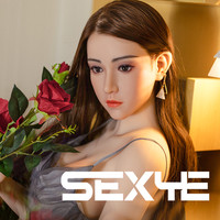 SEXYE Silicone Real Sex Doll For Man Sexy Toy with Big Breasts Big Ass Realistic Oral Vagina Adult TPE Love Doll Sexy Big Ass