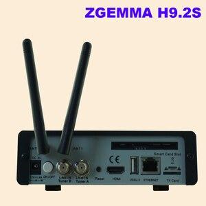 Image 2 - Yeni sürüm ZGEMMA H9.2S Linux OS Enigma2 dijital 4K UHD DVB S2 alıcısı 2000 DMIP e n e n e n e n e n e n e n e n e n e tuner uydu TV alıcı dekoder
