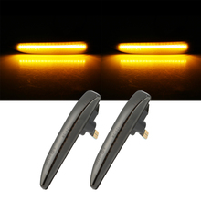 2pcs Car Side Marker Turn Signal Lights Lamp For BMW E65 E66 E67 4D Sedan Solo 2002-2008 Light