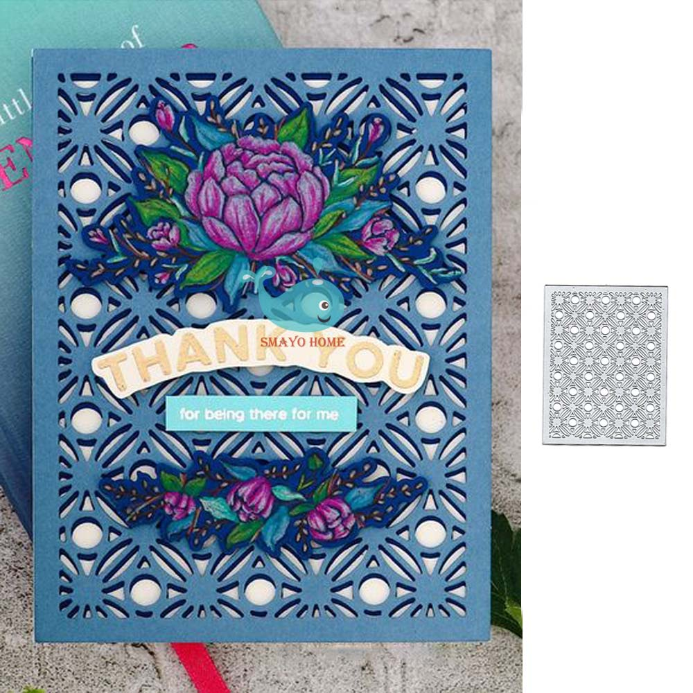 Flower Cutting Dies Embossing Paper Craft Decoration Die Scrapbooking Classical