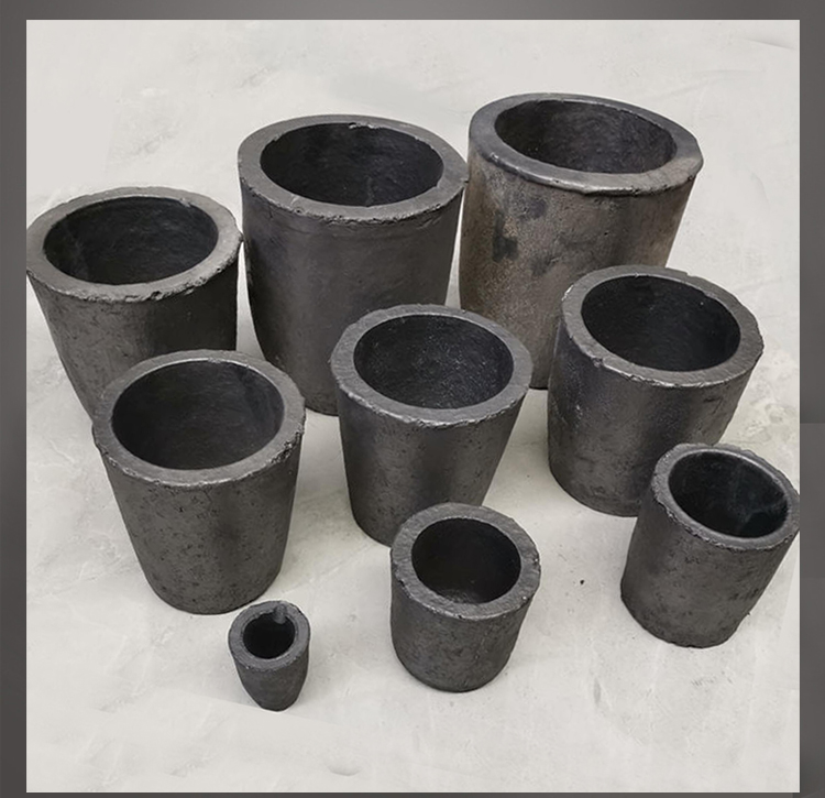 Silicon Carbide Graphite Crucibles For Gold Melting Coke Oven Electric Furnace Torch Melting Casting Refining Gold Silver
