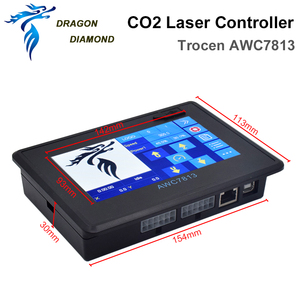 Image 2 - Sistema de controlador láser Co2 DSP, reemplazo de 708S 708C LITE para máquina de grabado y corte láser Co2 AWC7813