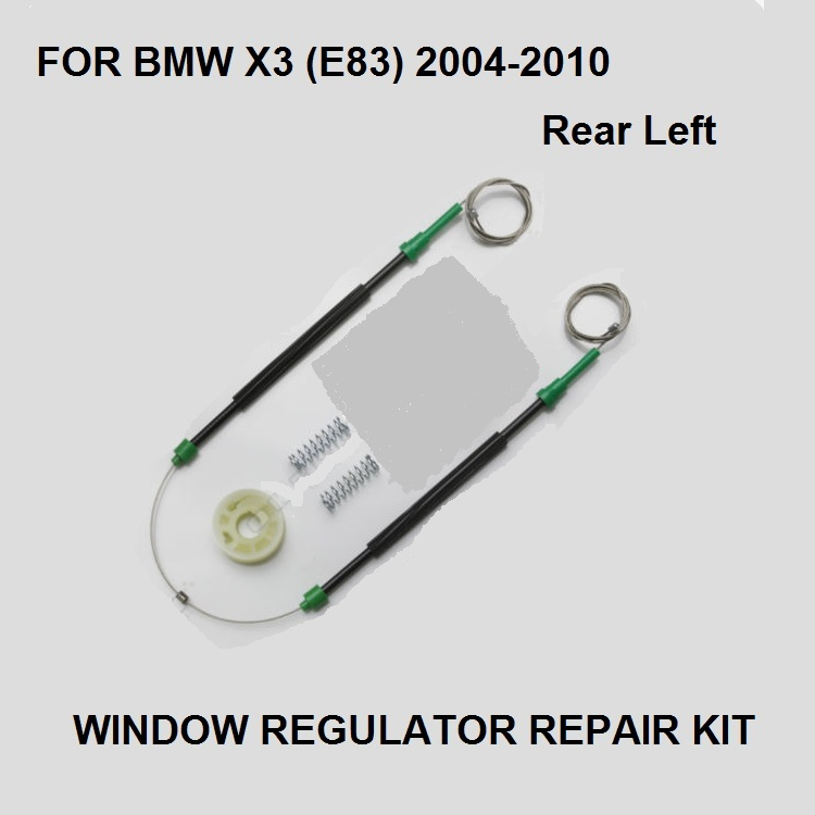 2004-2010  FOR BMW X3 E83 WINDOW REGULATOR REPAIR KIT REAR-LEFT  SIDE NEW OE#51353448251