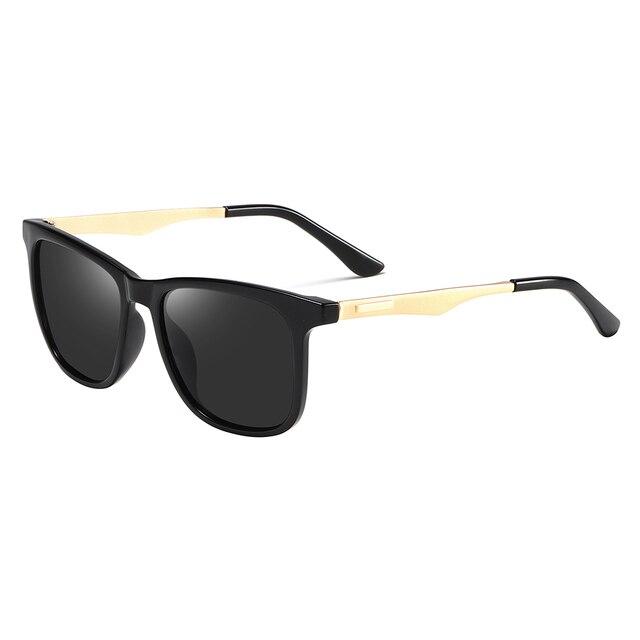 2020 Fashion Retro Women's HD Polarized Sunglasses UV400 Protection Square Anti-glare Driving Sun Glasses for Men 1