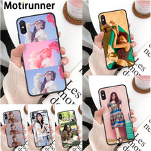 Motirunner Kpop f(x) Sulli Novelty Fundas Phone Case Cover for iPhone 11 pro XS MAX 8 7 6 6S Plus X 5 5S SE XR case(China)