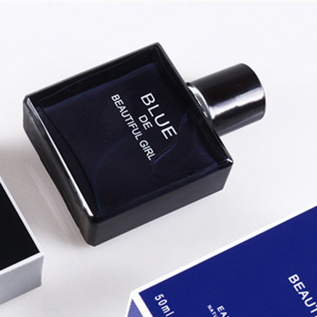 Men Perfume Long Lasting Fragrance Classic Cologne Perfume Spray Glass Bottle Male Perfume Atomizer 50Ml