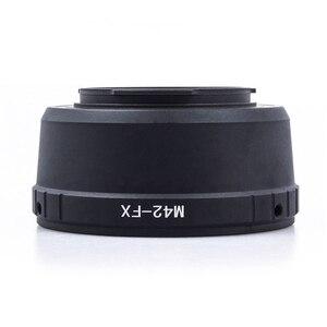 Image 5 - M42 anneau adaptateur dobjectif M42 adaptateur dobjectif à monture à vis M42 FX M 42 objectif pour Fujifilm X Mount anneau adaptateur dappareil photo