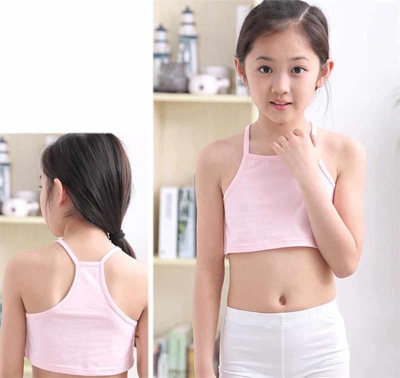 Girls camisole girl cotton vest child world of tank girls underwear candy  color girls tank tops kids clothing models Tanks & Camis  - AliExpress