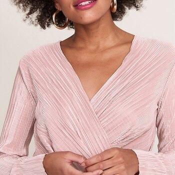 Fashion Long Sleeve Bodysuit For Women Jumpsuits White Pink Body Femme Monos Cortos De Mujer autumn winter women sexy bodysuit 2