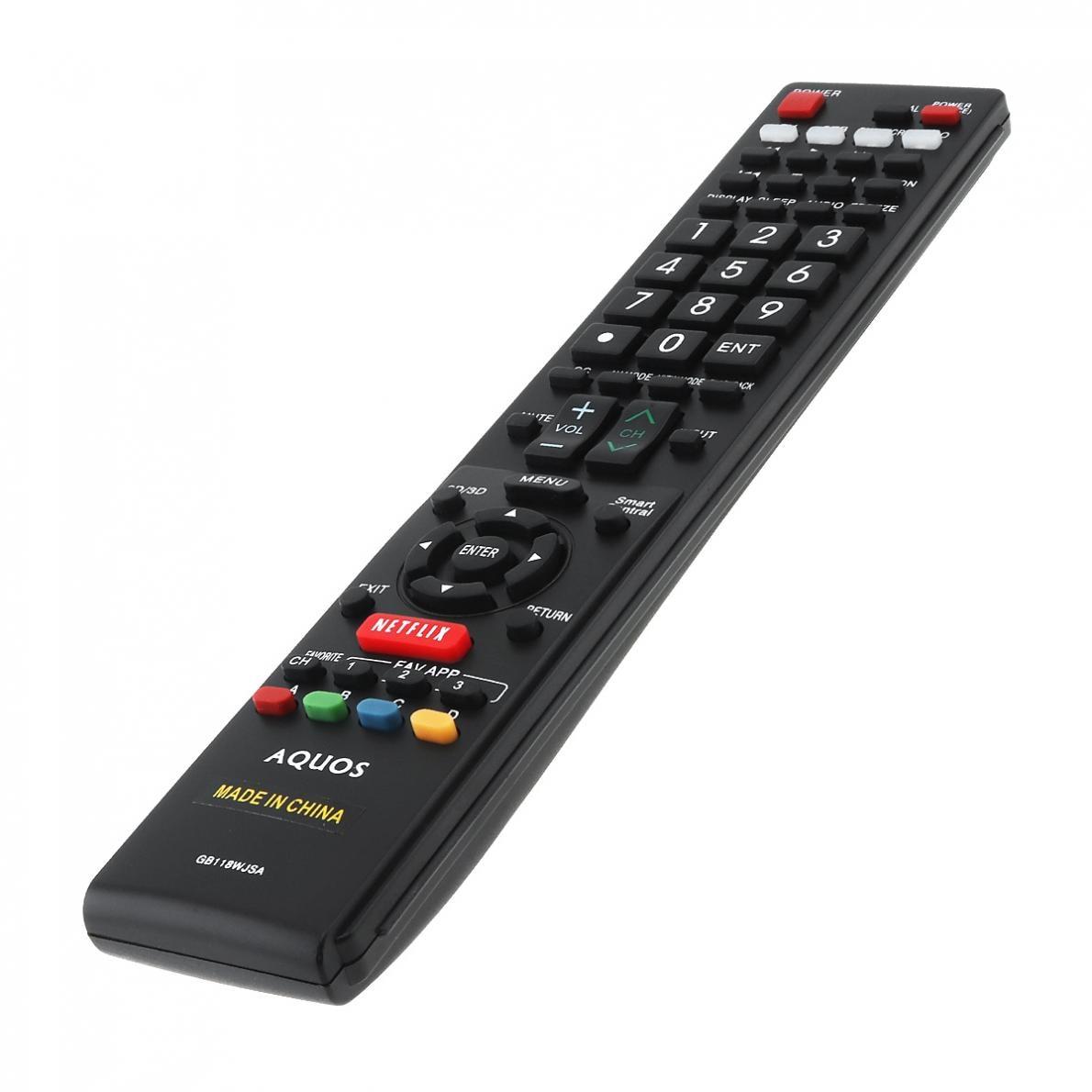 GB118WJSA NEW Replaced Remote Control SHARP AQUOS TV GB005WJSA GA890WJSA