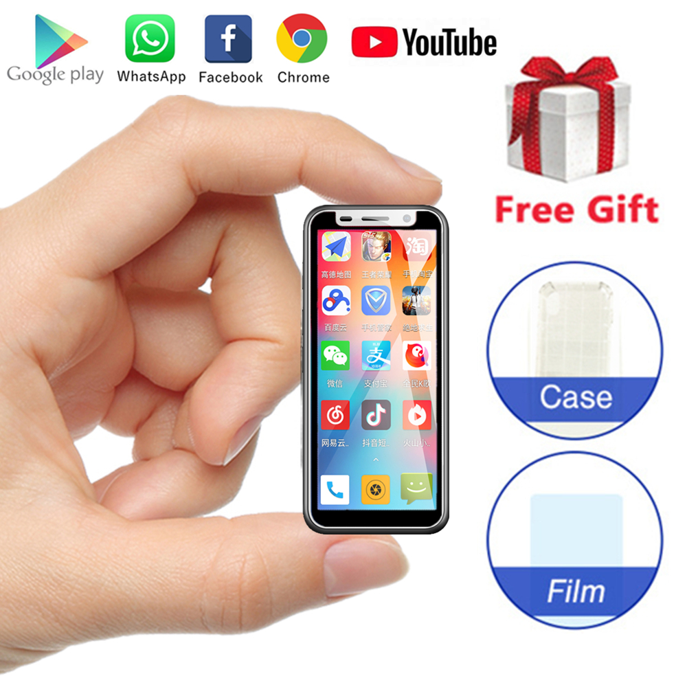 Smallest smartphone Melrose 2019 Android 8 1 3 4Inch 1GB 8GB Telephone 2000mAh 5MP Fingerprint Unlock